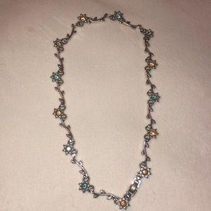 Brighton Viennese Flowers Swarovski Necklace